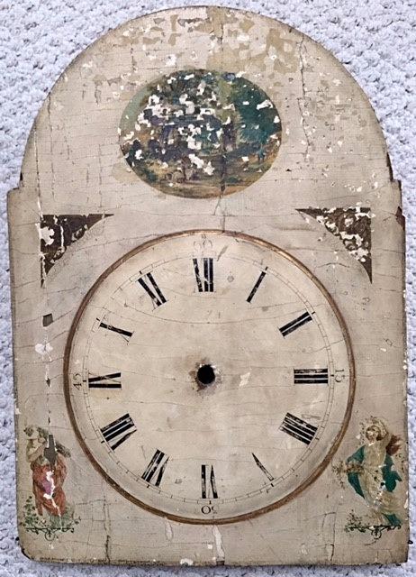 Hackbrettuhren harp clock 10