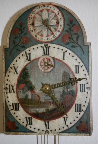Late 1700's clock to be added to the collection