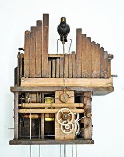 "Black Forest ""Flötenuhr"" flute clock"