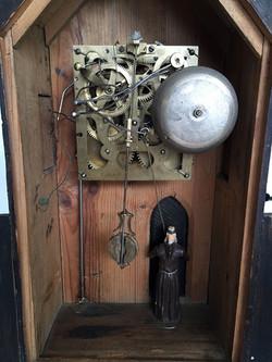 Black Forest Monk Clock Movement