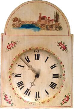 Organ clock face plate