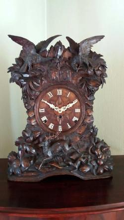 Black Forest Beha Cuckoo/Quail Clock