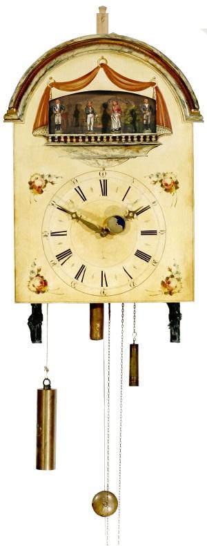 Eric's Black Forest Flute Clock