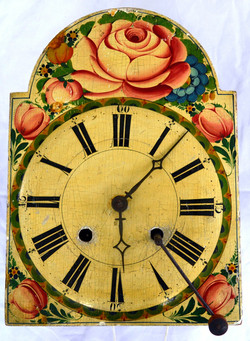 Early Black Forest Shield Clock