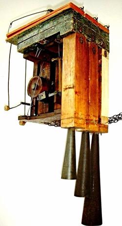 Jacob Barurle Trumpeter Clock movmt