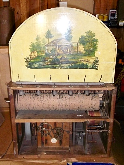 Black Forest Organ Clock 46 pipes