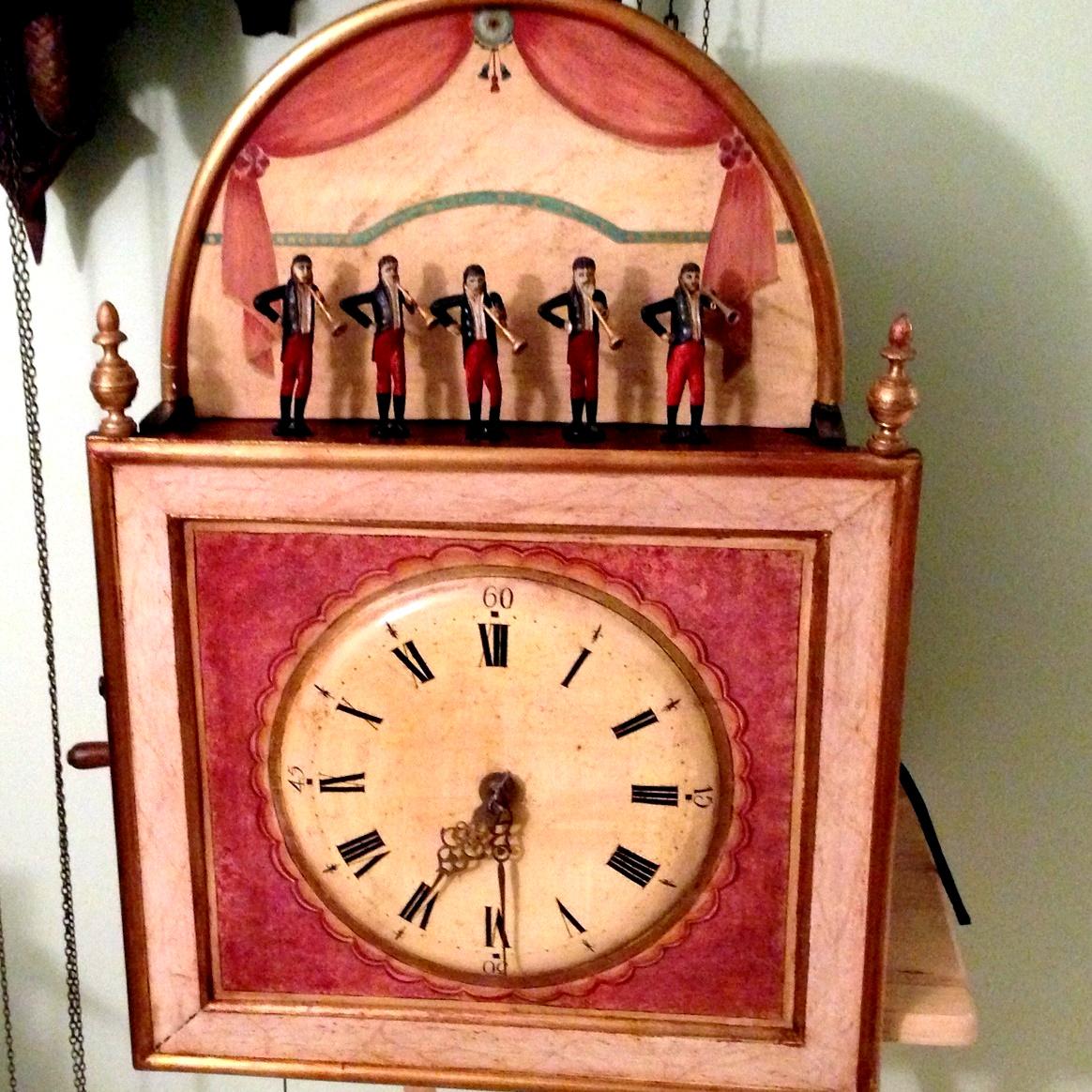 Black Forest Organ clock