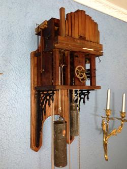 Black Forest Shield Clock Movement