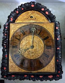 Black Forest Clock Seeing Eye