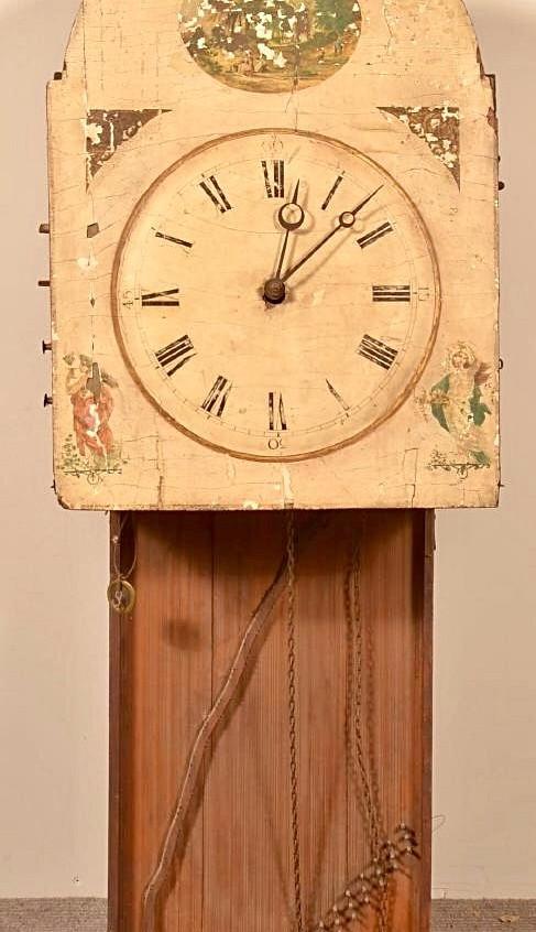 Hackbrettuhren harp clock 2