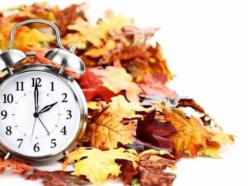 일광절약시간제종료 Daylight Saving Time End
