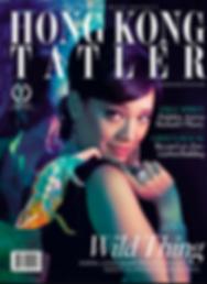 sharon kwok, chameleon, hong kong tatler, magazine cover