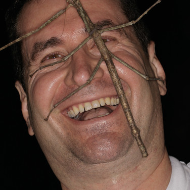A scary Dan, with stick insect
