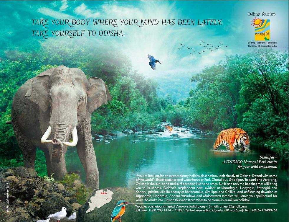 Odisha Tourism Advertisement