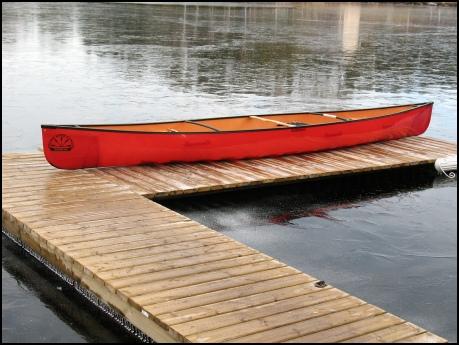 Quetico 18.5 Kevlar Canoe