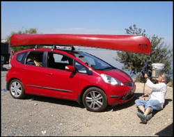 One of our canoes in Israel