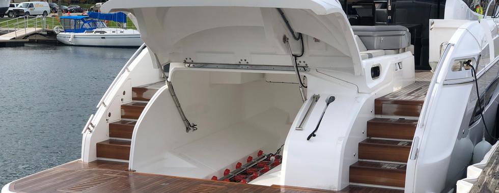Rear hatch