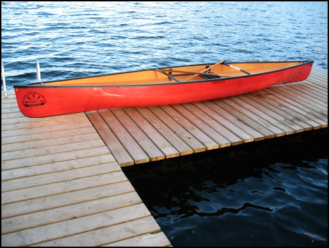 Souris River Tranquility Solo Canoe