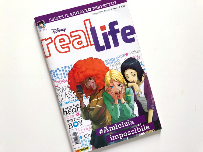 Real Life Magazine First Issue published