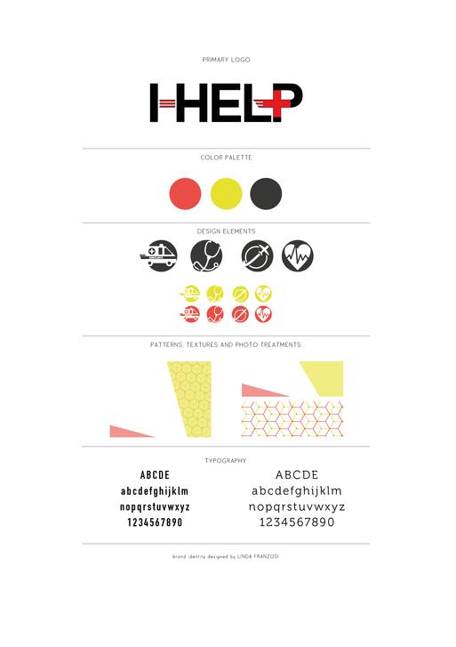 Brand Identity / I-Help