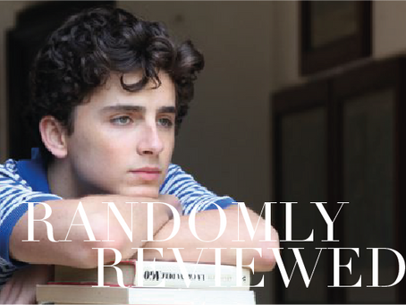 "Randomly Reviewed ""Call me by your name"""