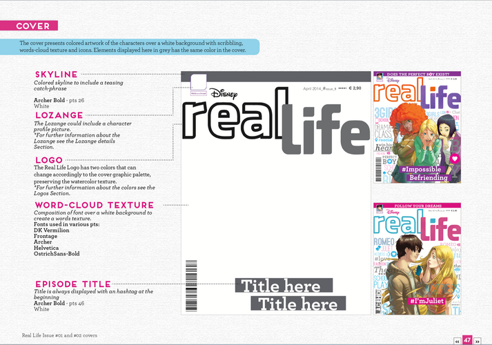 Real Life Magazine Design Kit