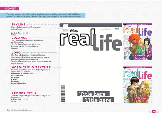 Real Life Magazine Design Kit