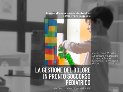 ER: pediatrics pain and procedures