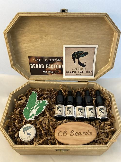 Advanced Beard Oil Sample Kit