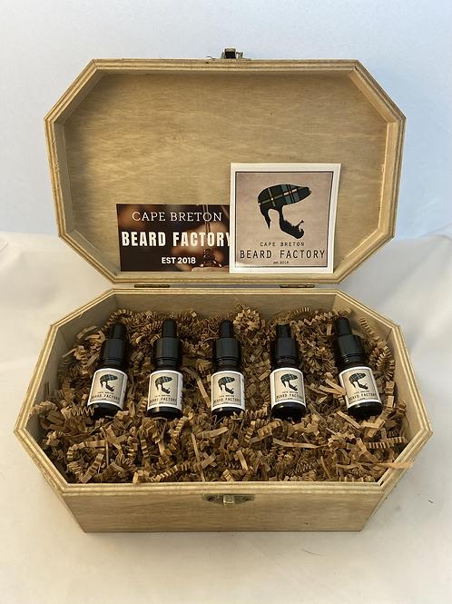 Beard Oil Sample Box Set