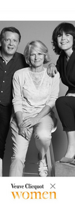 Juin 2019 _ Rôle Maker et speaker lors de la journée Veuve Clicquot x Women avec Pierre-Yves Ginet et Hélène Boulet-Supau