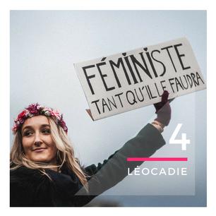 """Léocadie : """" Personne ne perdra de droits, on veut juste tous les mêmes libertés !"""""""