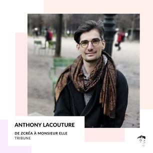 """Par Anthony Lacouture : """"Nommer ton ambition, c'est reconnaitre ta valeur en tant qu'être humain"""""""