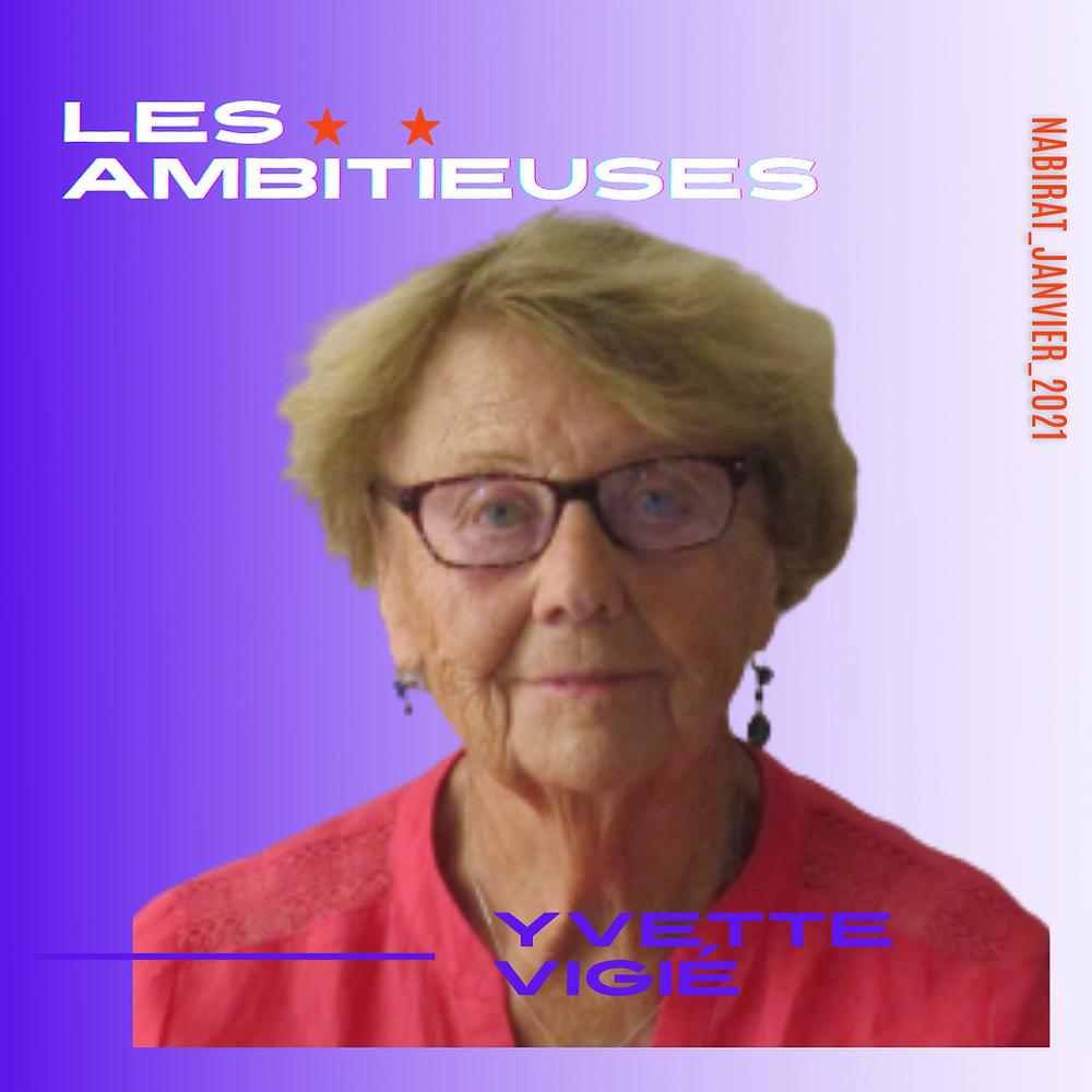 Yvette Vigié - Madame la maire