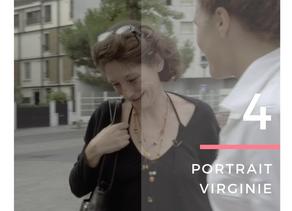 """Virginie, 49 ans """"Une femme qui se retrouve à la rue doit perdre de sa féminité et de sa person"""