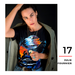 Julie Fournier, le retour au naturel assumé : «Je sens, je vais, je vogue. Et aprèsça passe ou ça