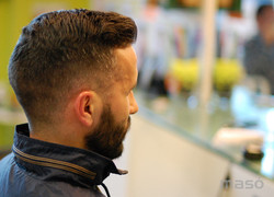 Marc a  barberia MASÓ - Banyoles