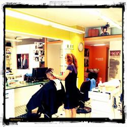 Eva a barberia MASÓ