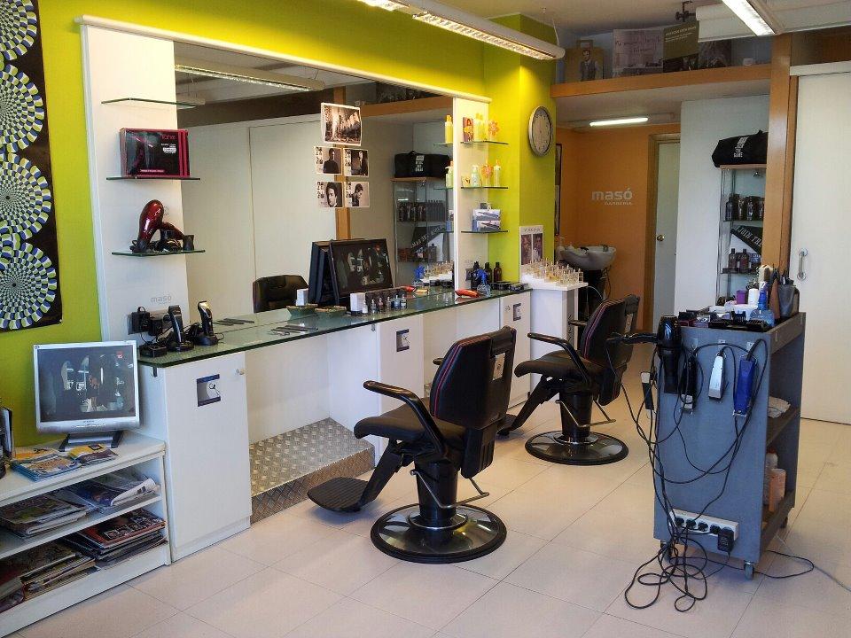 Barberia MASÓ foto interior