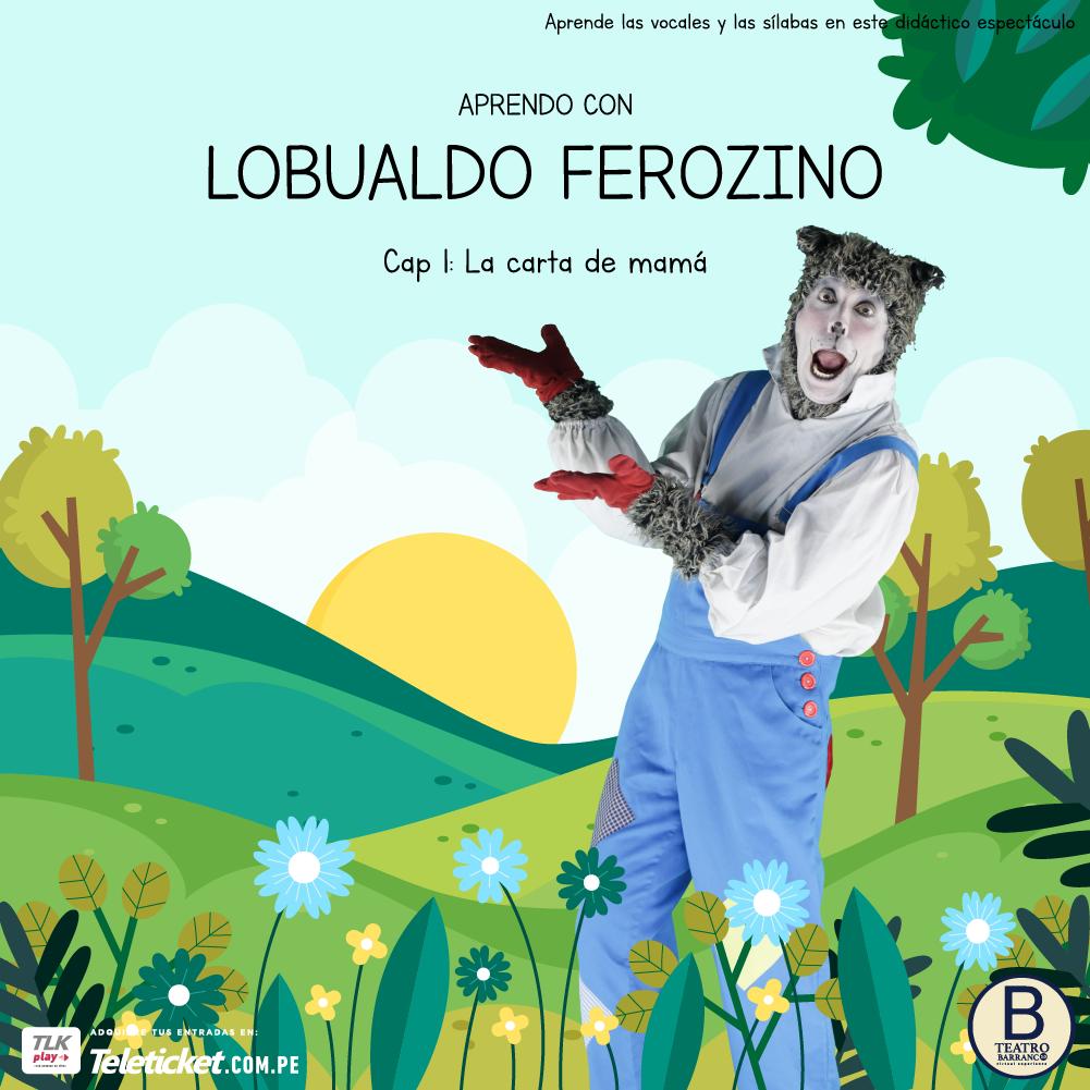 APRENDO CON LOBUALDO FEROZINO