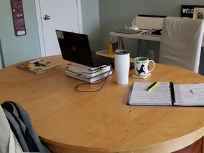 """Reflecting on Today's Workplace Disruption:  Adapting to a Home """"Office"""""""