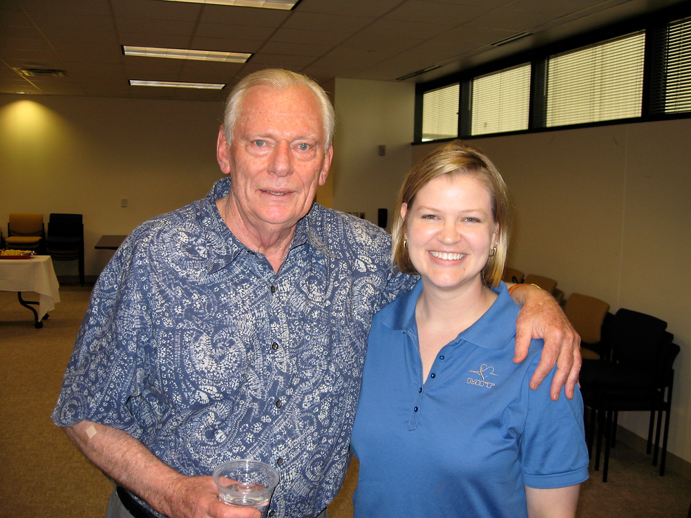 Photo Opp with Herb Kelleher, Aug 12, 2008