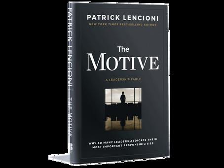 Book Brief:  The Motive by Patrick Lencioni