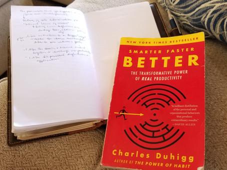 Book Brief - Smarter Faster Better