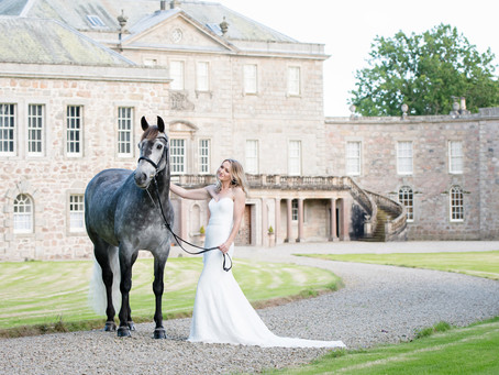 Keileigh and Cloudy's Haddo House dream shoot