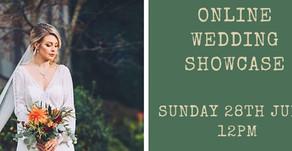 Online Wedding Showcase - 28th June 2020