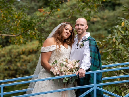 Cassie and Stuart's Johnstone Garden wedding