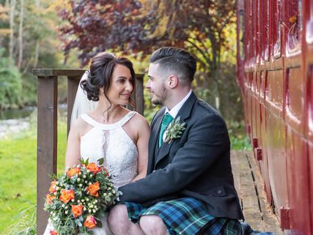 Lyndsay and Mark's Aswanley wedding