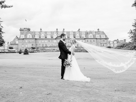 Katie and James' lovely Gleneagles wedding
