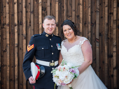 Hannah and Glen's Logie Country House Wedding